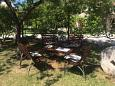 Courtyard Brela (Makarska) - Accommodation 11733 - Apartments near sea with pebble beach.