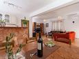 Seget Vranjica, Dining room u smještaju tipa apartment, WIFI.