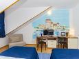Split, Bedroom u smještaju tipa room, dostupna klima i WIFI.