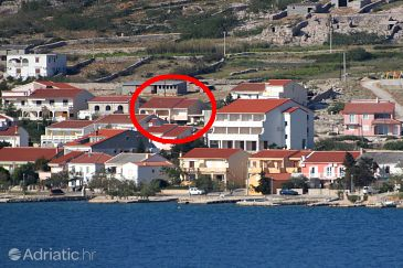 Property Kustići (Pag) - Accommodation 11763 - Apartments near sea with pebble beach.
