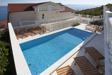 Property Zavode (Omiš) - Accommodation 11786 - Apartments with pebble beach.