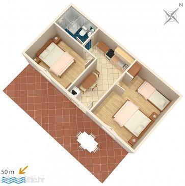 Apartment A-118-a - Apartments Mudri Dolac (Hvar) - 118