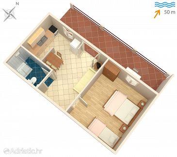 Apartment A-118-b - Apartments Mudri Dolac (Hvar) - 118