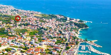 Property Podstrana (Split) - Accommodation 11802 - Apartments with pebble beach.