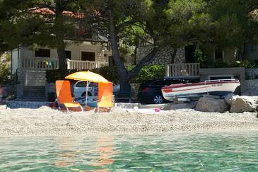 Property Brela (Makarska) - Accommodation 11821 - Apartments near sea with pebble beach.