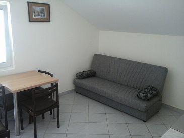 Vir, Dining room u smještaju tipa apartment, dostupna klima.