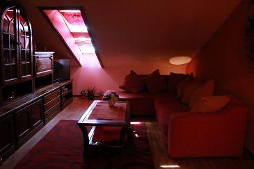Pula, Obývací pokoj u smještaju tipa apartment, WIFI.