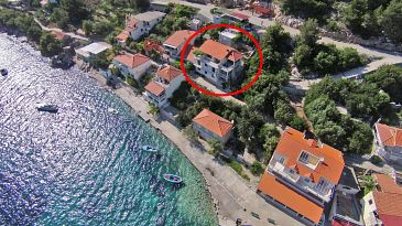 Property Gršćica (Korčula) - Accommodation 132 - Apartments near sea.