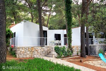 Property Ivan Dolac (Hvar) - Accommodation 140 - Vacation Rentals near sea with pebble beach.