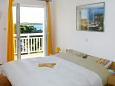 Bedroom - Studio flat AS-143-b - Apartments and Rooms Hvar (Hvar) - 143