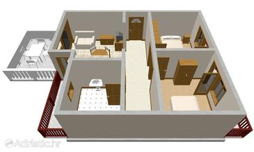 Apartment A-149-a - Apartments Prižba (Korčula) - 149