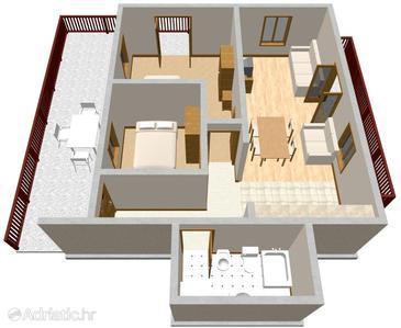 Apartment A-149-b - Apartments Prižba (Korčula) - 149