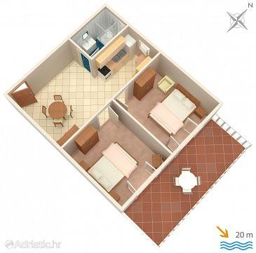 Apartment A-152-b - Apartments Prižba (Korčula) - 152