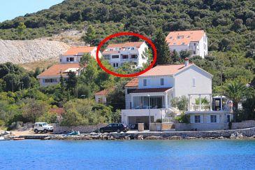 Property Žrnovska Banja (Korčula) - Accommodation 154 - Apartments with pebble beach.