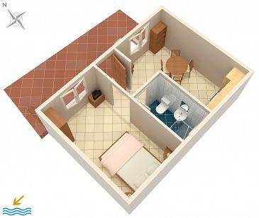 Apartment A-171-a - Apartments Brna (Korčula) - 171