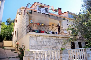 Property Brna (Korčula) - Accommodation 171 - Apartments near sea.