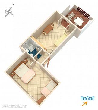 Apartment A-174-c - Apartments Tri Žala (Korčula) - 174