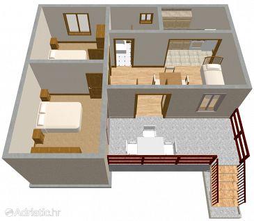 Apartment A-175-d - Apartments Prižba (Korčula) - 175