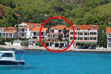 Property Prižba (Korčula) - Accommodation 175 - Apartments near sea.