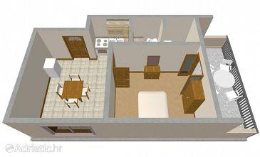 Apartment A-177-a - Apartments Lumbarda (Korčula) - 177