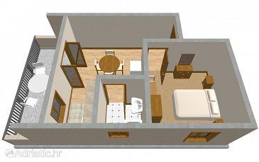Apartment A-177-b - Apartments Lumbarda (Korčula) - 177