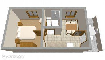 Apartment A-188-a - Apartments Zavalatica (Korčula) - 188