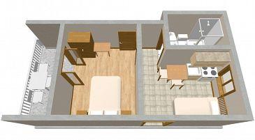 Apartament A-195-b - Apartamenty Sućuraj (Hvar) - 195