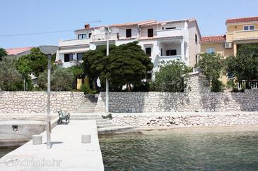 Property Barbat (Rab) - Accommodation 2015 - Apartments near sea with pebble beach.