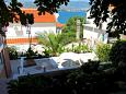 Courtyard Mastrinka (Čiovo) - Accommodation 2042 - Apartments with pebble beach.