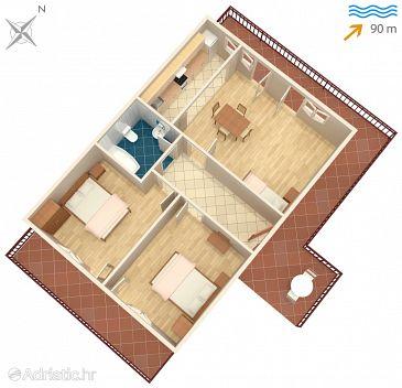 Apartment A-2045-a - Apartments Mastrinka (Čiovo) - 2045