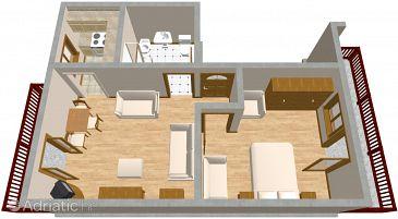 Apartment A-2046-a - Apartments Trogir (Trogir) - 2046