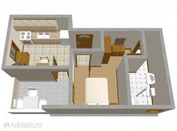 Apartment A-205-b - Apartments Mandre (Pag) - 205