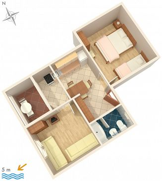 Apartment A-2054-a - Apartments Ražanj (Rogoznica) - 2054