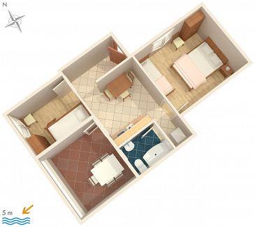 Apartament A-2054-b - Apartamenty Ražanj (Rogoznica) - 2054