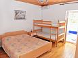 Bedroom - Studio flat AS-206-a - Apartments and Rooms Metajna (Pag) - 206