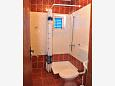 Bathroom - Room S-206-e - Apartments and Rooms Metajna (Pag) - 206