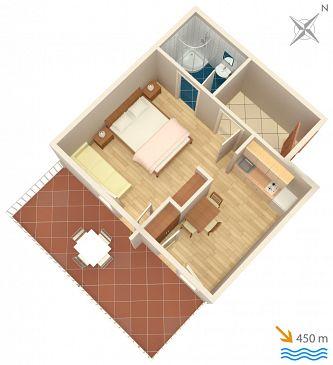 Studio flat AS-2062-a - Apartments Jelsa (Hvar) - 2062