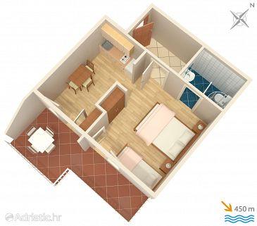Studio flat AS-2062-b - Apartments Jelsa (Hvar) - 2062