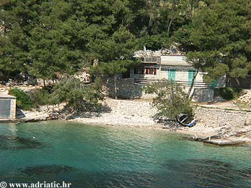 Property Uvala Lozna (Hvar) - Accommodation 2063 - Vacation Rentals near sea with pebble beach.