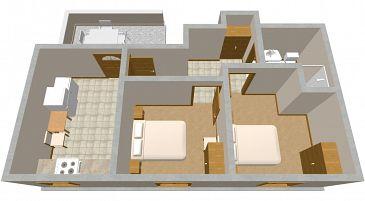 Apartament A-2066-b - Apartamenty Uvala Zaraće (Hvar) - 2066