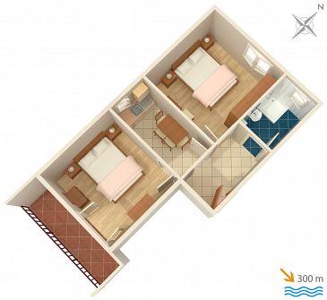 Apartment A-2068-b - Apartments Jelsa (Hvar) - 2068