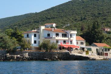 Property Uvala Pokrivenik (Hvar) - Accommodation 2069 - Rooms near sea.