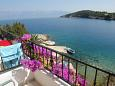 Balcony 1 - view - Apartment A-2073-f - Apartments Uvala Pokrivenik (Hvar) - 2073