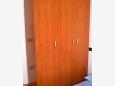 Uvala Pokrivenik, Bedroom u smještaju tipa studio-apartment, dostupna klima i dopusteni kucni ljubimci.