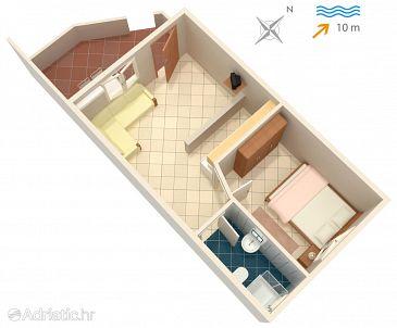 Apartment A-2074-b - Apartments Basina (Hvar) - 2074