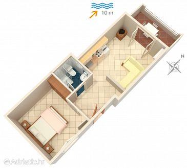 Apartment A-2074-e - Apartments Basina (Hvar) - 2074