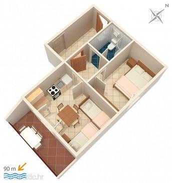 Apartment A-2076-b - Apartments Rastići (Čiovo) - 2076