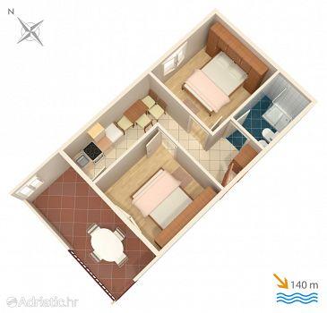 Apartment A-2079-d - Apartments Rastići (Čiovo) - 2079