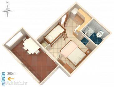 Studio flat AS-208-a - Apartments Metajna (Pag) - 208