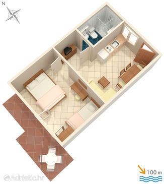 Apartment A-2080-b - Apartments Rastići (Čiovo) - 2080